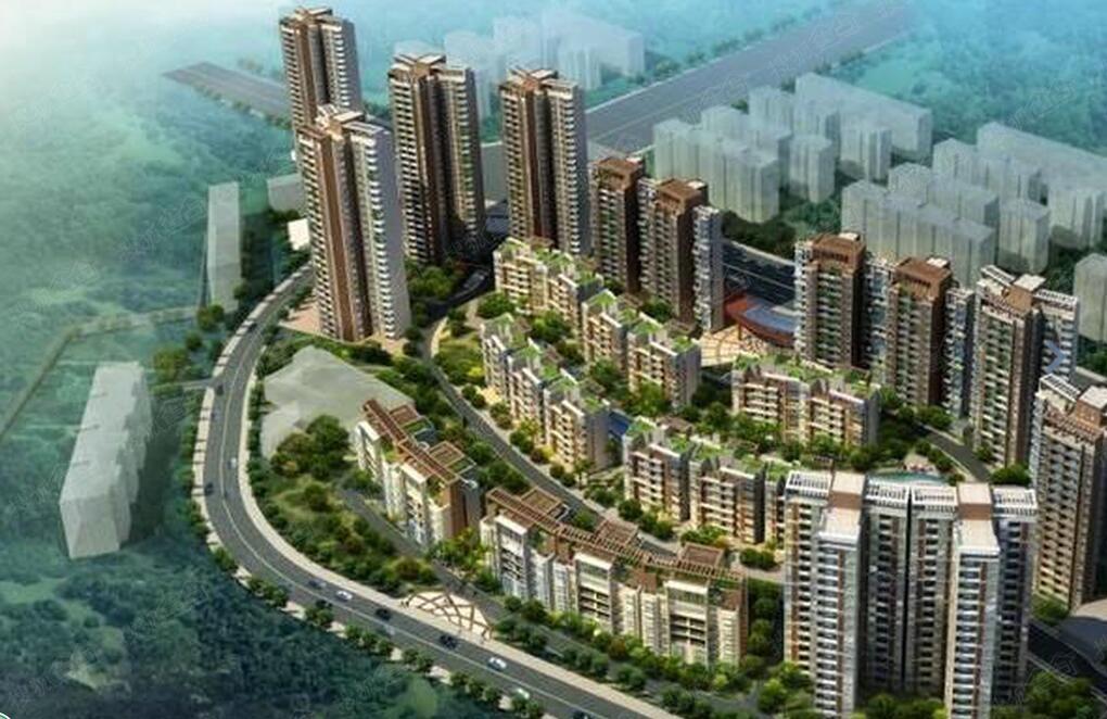 武汉中建龙城小区装修