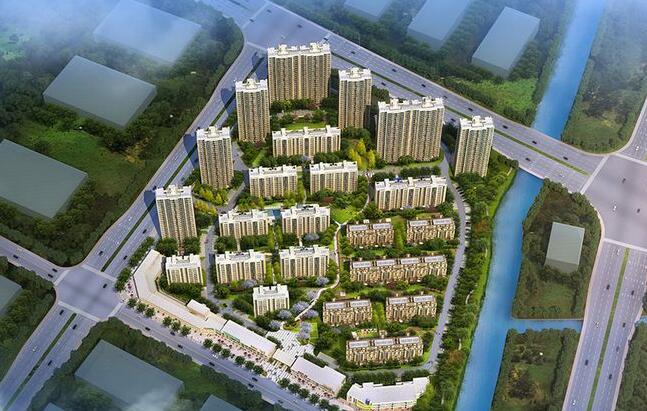 宁波中房未来盛园小区装修