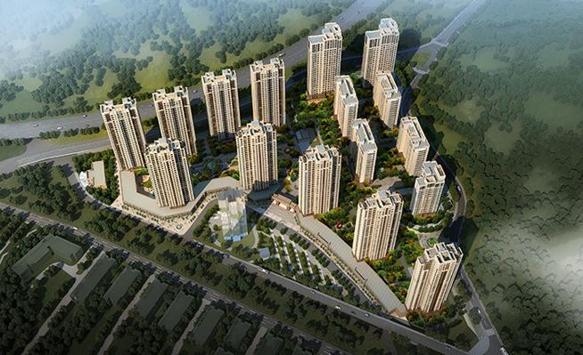福州阳光城·山与海小区装修