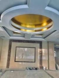 酒店大厅吊顶完工图
